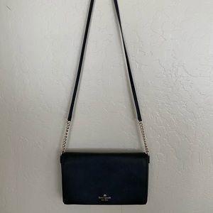 small black crossbody Kate spade purse!!
